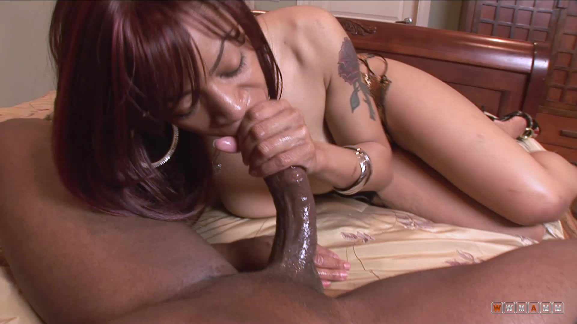 Nasty Black Bitch Can Work On Your Cock As Long As It Is Hard