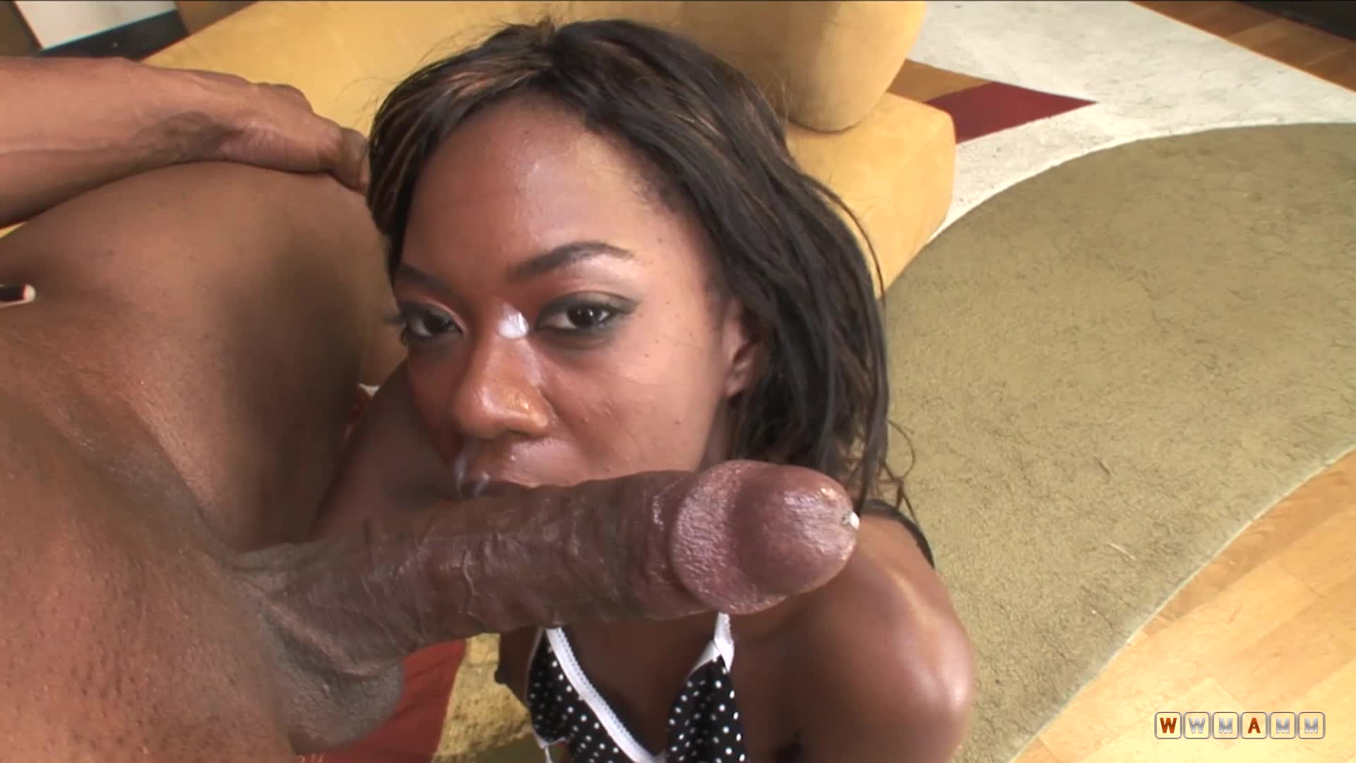 Whores Like Aysha Usually End With A Cum On Their Slutty Face