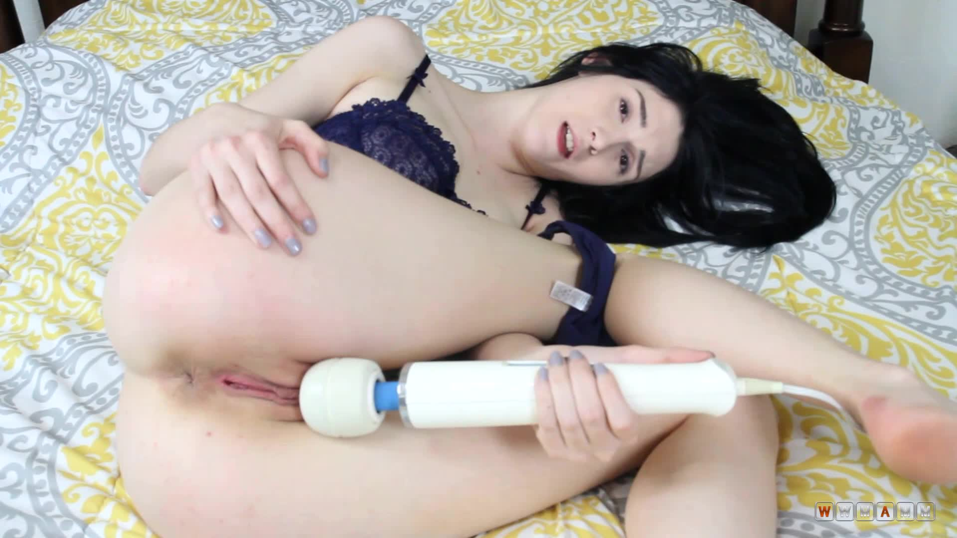 Ivy Aura Gets Really Excited When She Has Vibrator Near Her