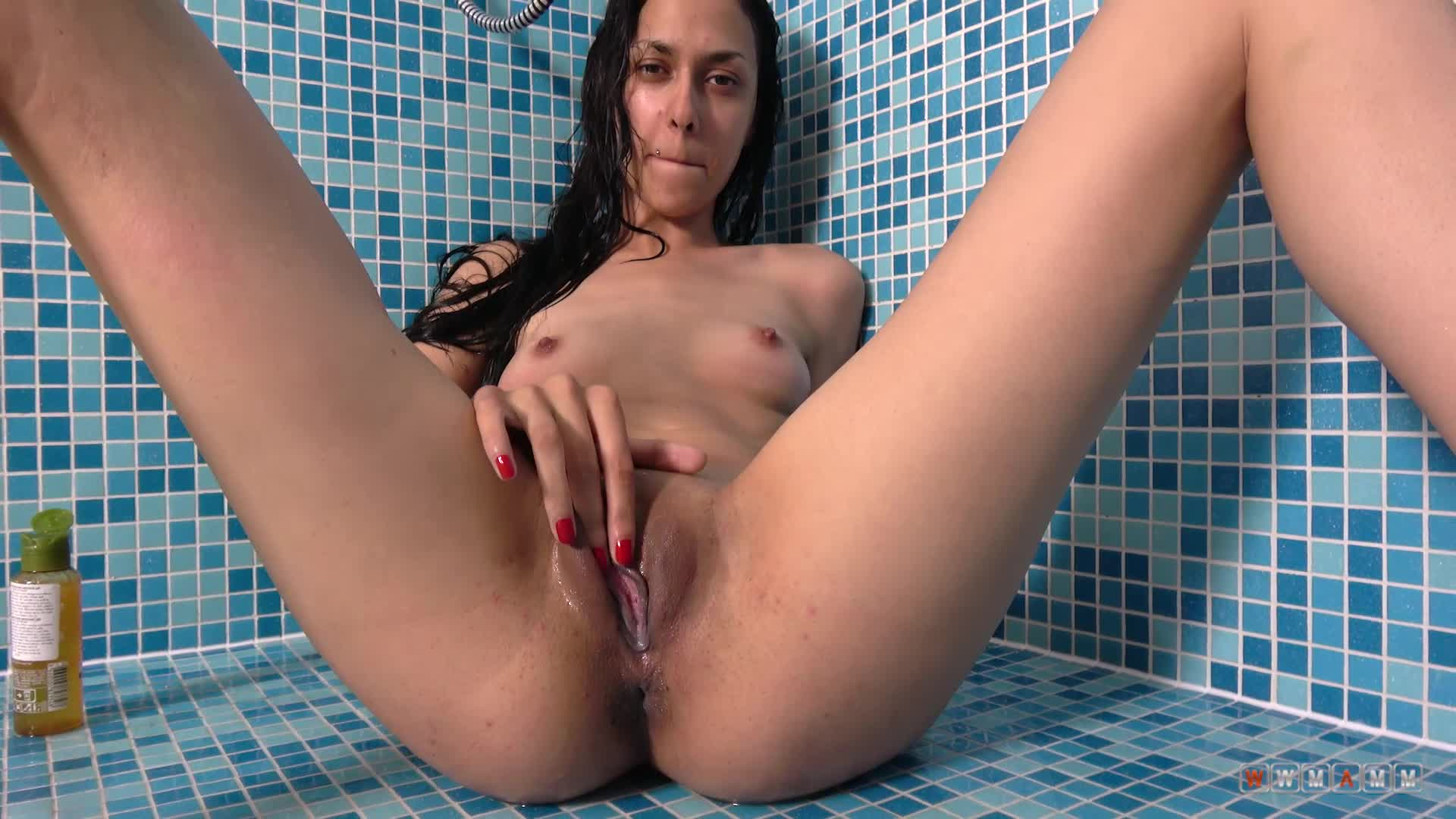 Finally She Found A Place Where She Can Be Alone And Masturbate