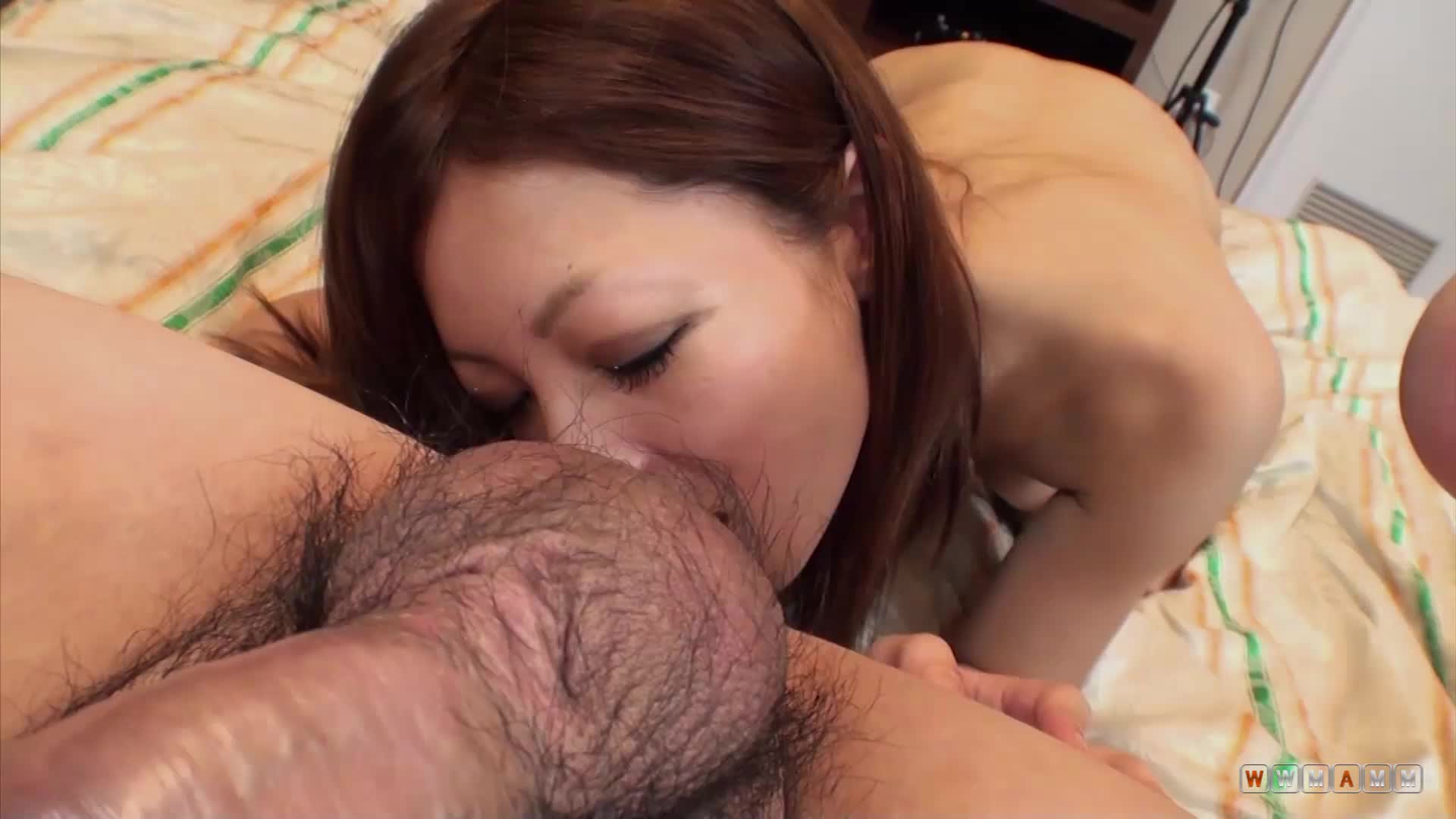 Close Up Of Stranger Asian Teen Sucking On My Small Dick