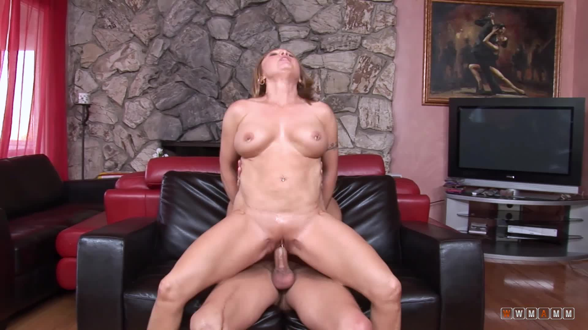 Horny Old Milf Fucks Young Guys Every Opportunity She Has