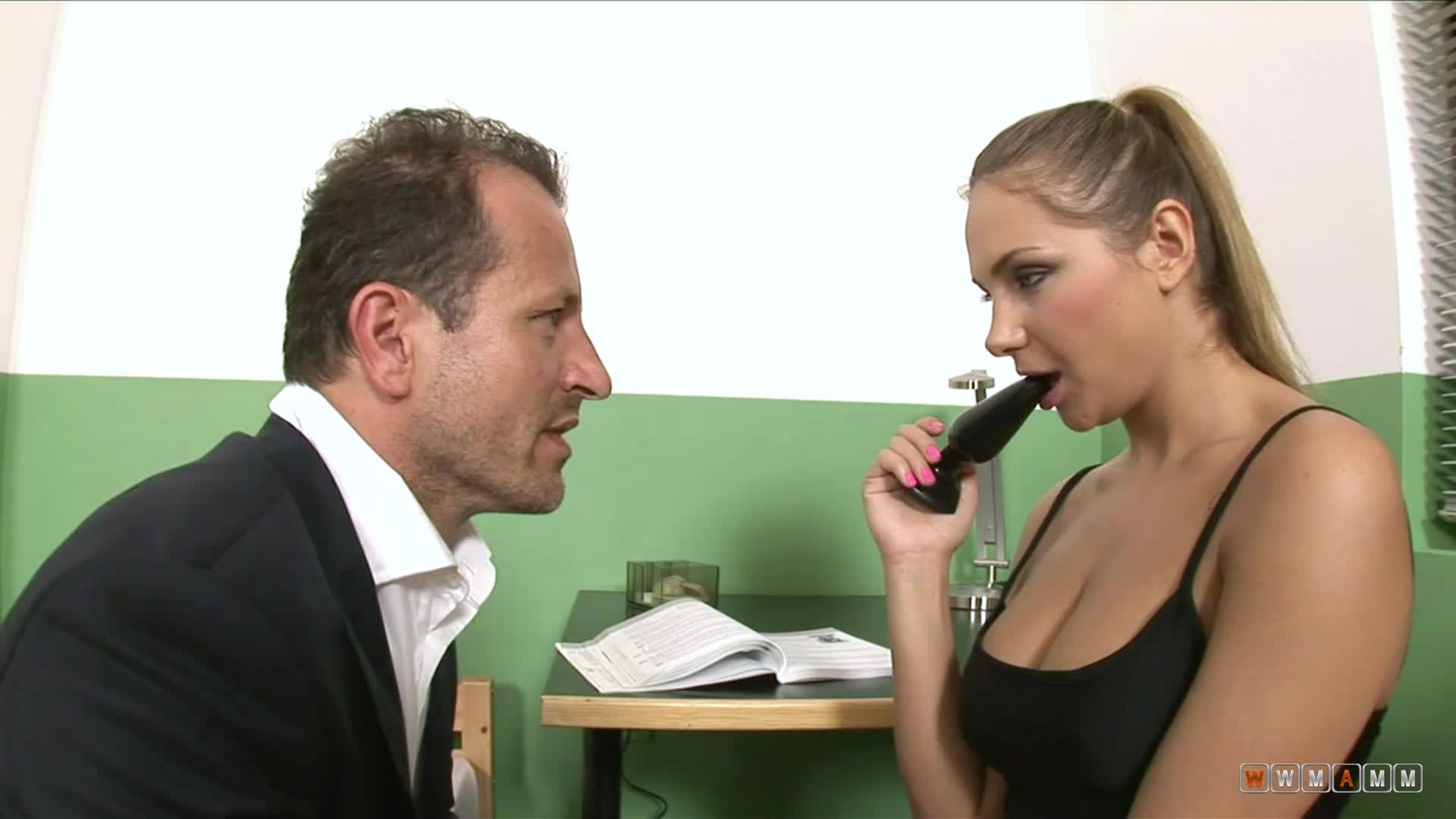 After Room Inspection Amy Had To Fuck The Naughty Principal