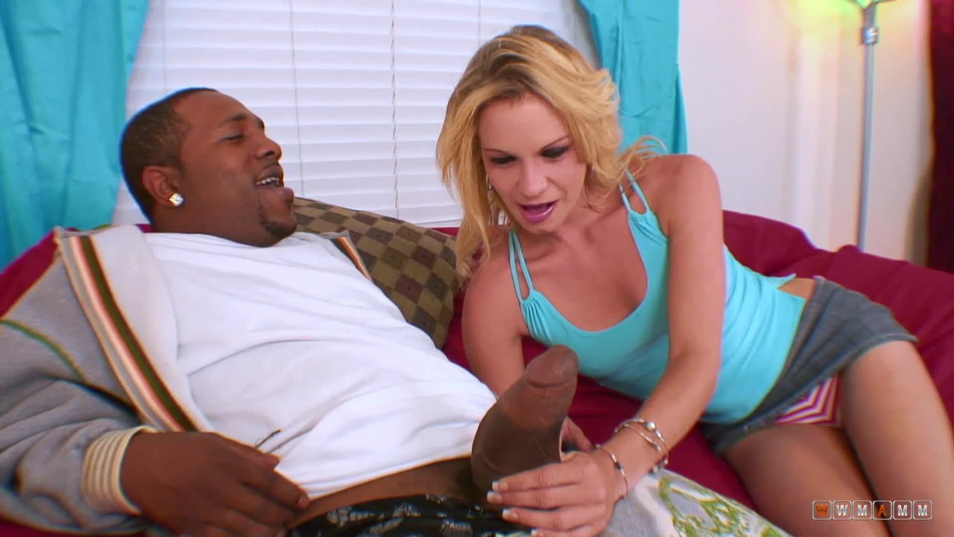 April Was Impressed By The Huge Dick Of Her Brothers Coach