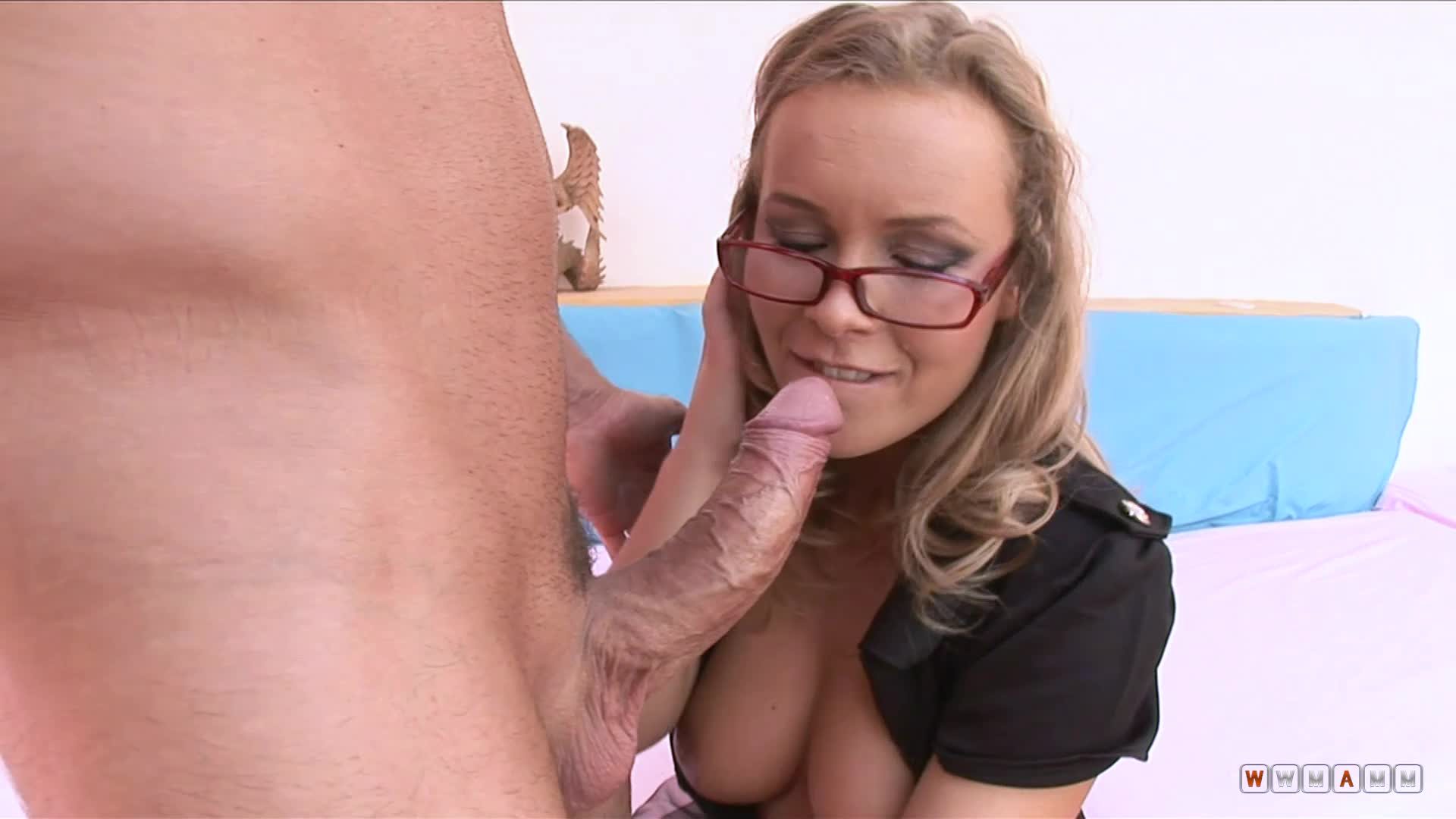 Collete Is A Nasty Lady With A Wish To Take A Big Cock In Her Ass