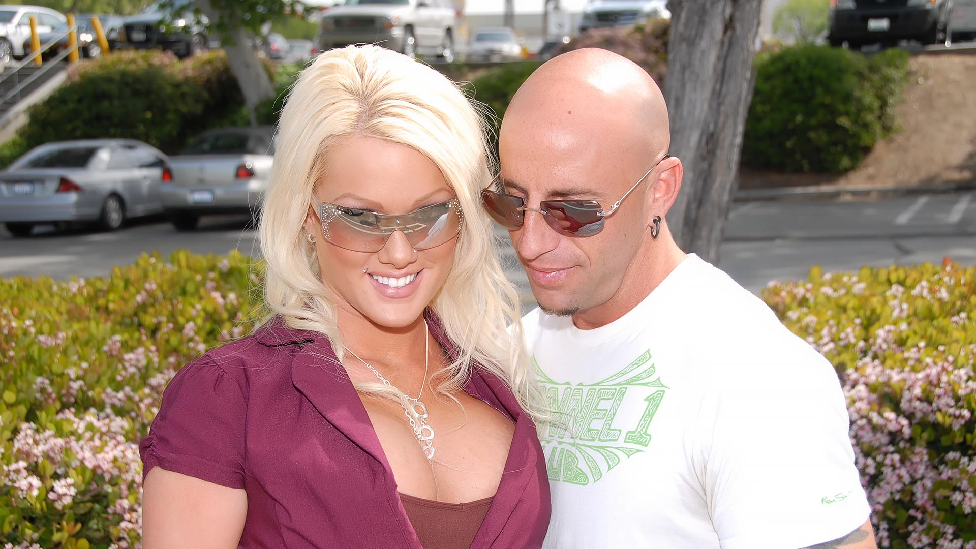 His Bald Head Got Lost Between Her Unbelievably Huge Tits