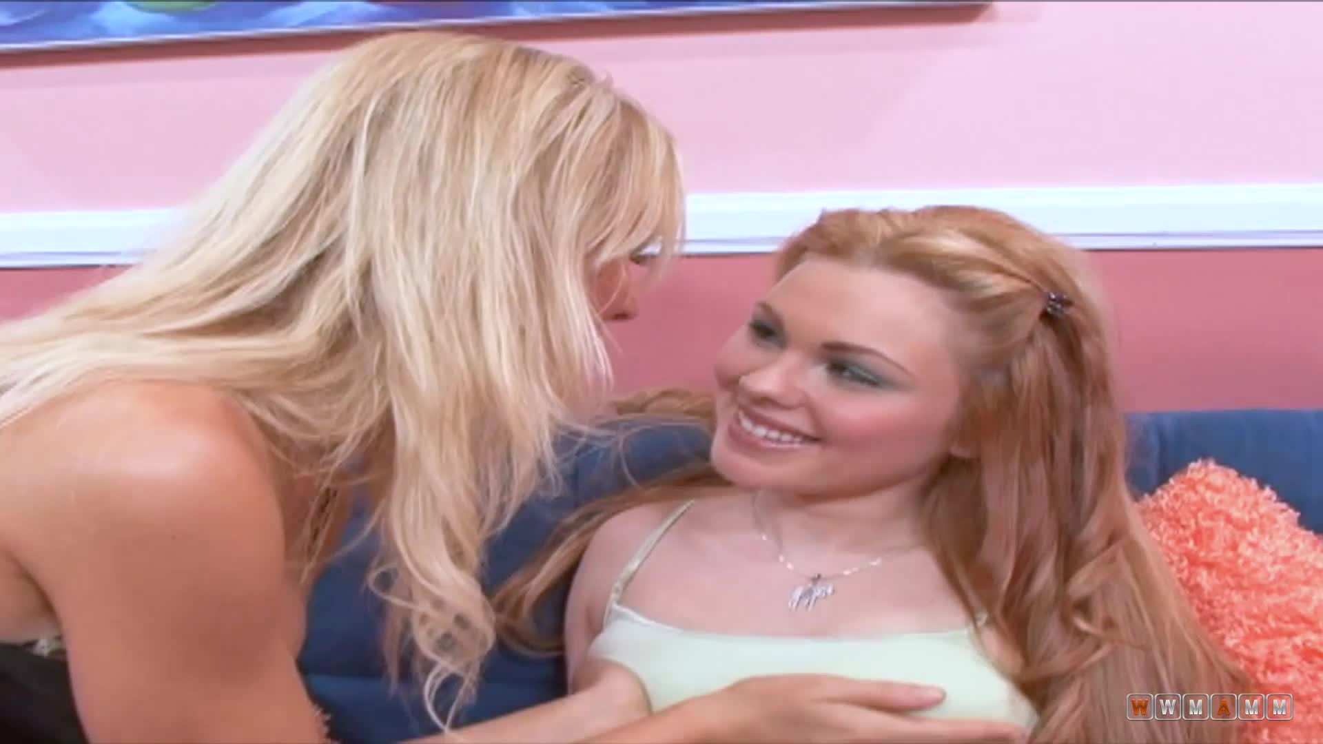 Hot babes Jayme Langford and Sabrina Rose are feeling very horny