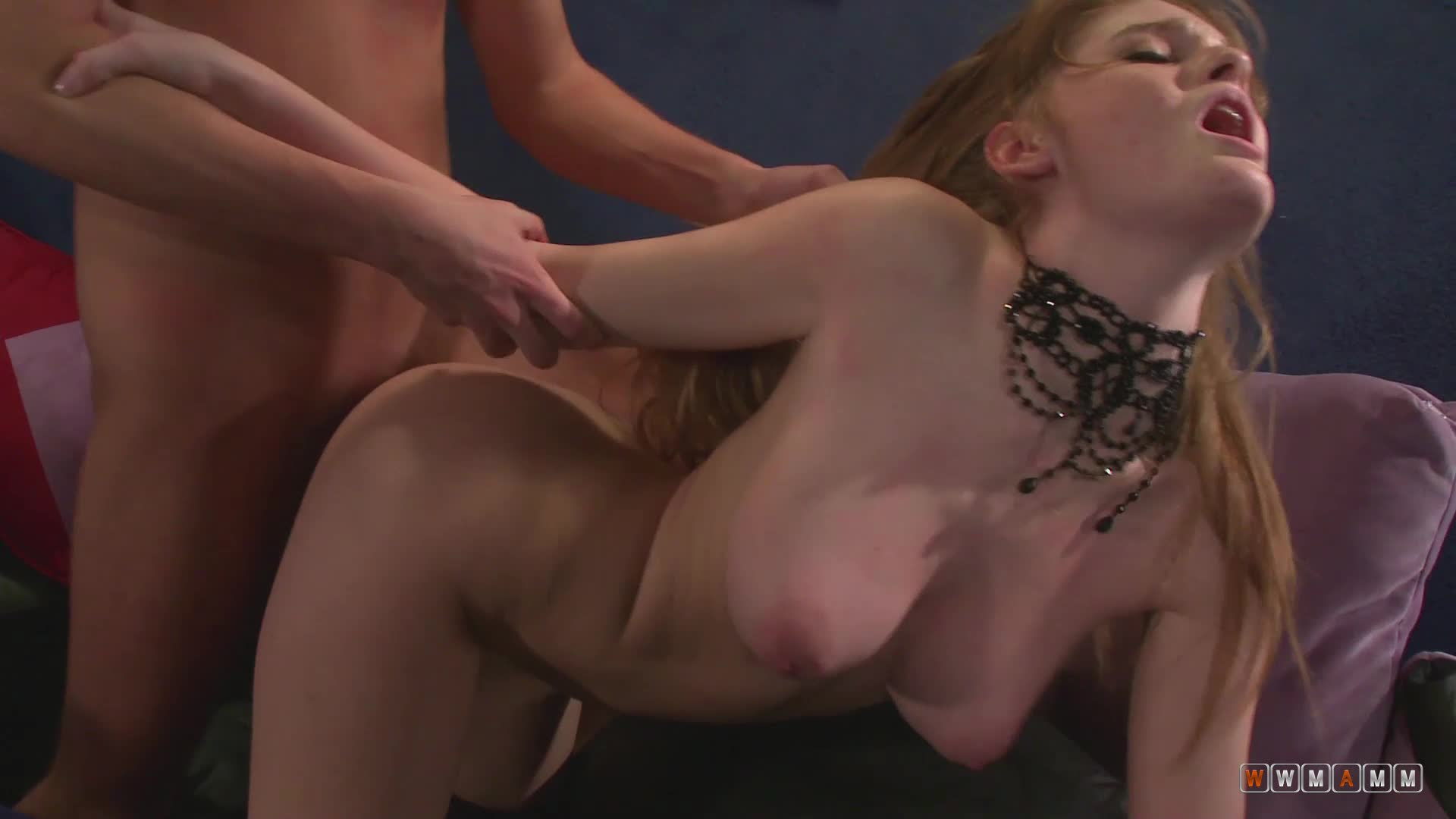 Playing Hard To Get But She Is Dying To Play With His Hard Cock