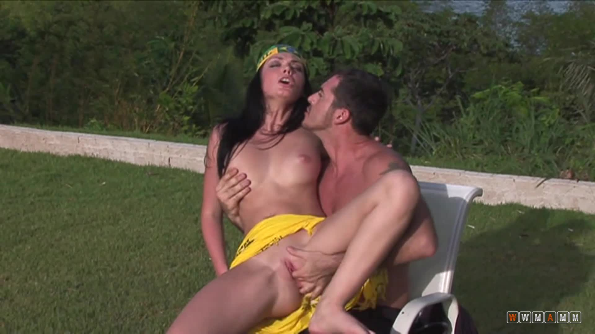 Hot And Horny Brazilian Roxy Visited Her Husband For Some Fun
