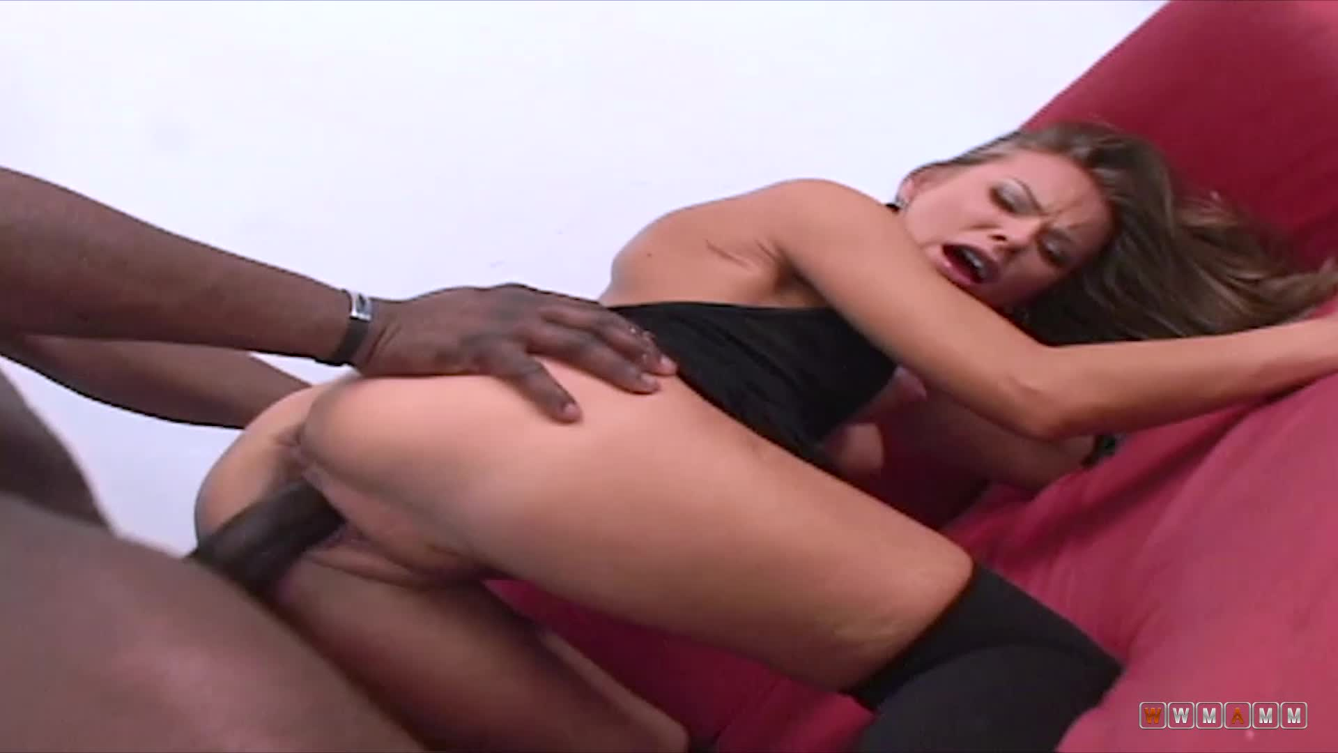 Lisa Is Trying To Tease And Get That Black Cock Up With Her Show